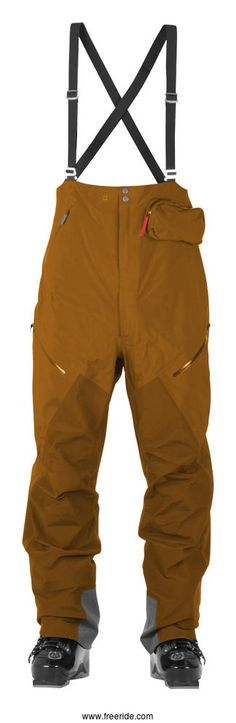 The Supernaut pants are crafted for high alpine freeride pursuits where ventilation, unrestricted range of movement and jacket compatibility are all critical. This is our top-of-the-line GORE-TEX® PRO pants - our team favorite and bestseller.