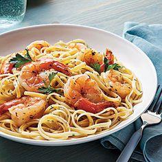30-Minute Dinners | Shrimp Scampi Linguine | CoastalLiving.com