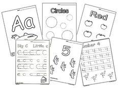 Tips for Preschool Homeschool.  Teaching your preschooler at home.