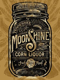 Moonshine Hatch Show Print