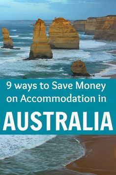 Expert tips on saving money while traveling in Australia. Lots of accommodation options to consider.