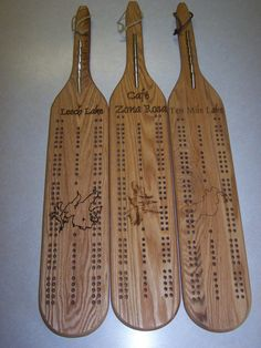 Bullet Custom Peg Cribbage Board