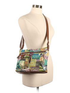 Relic Graphic Brown Crossbody Bag One Size - off Clothes For Sale, Clothes For Women, Brown Crossbody Bag, Premium Brands, Second Hand Clothes, Top Shoes, Shoe Brands, Dress Brands, Shoulder Bag