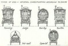 TYPES OF ENGLISH GYPSY VANS