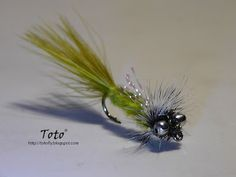 Bead chain eye Damsel Marabou by Toto®