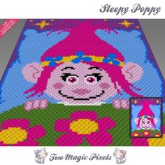 Looking for your next project? You're going to love Sleepy Poppy C2C Graph…