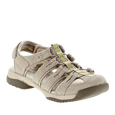 Clarks Vapor Mist Fisherman Sandals :: Casual Sandals :: Shop now with FootSmart Hiking Sandals, Hiking Boots, Suede Sandals, Clarks, Mists, Shop Now, My Style, Casual, Stuff To Buy