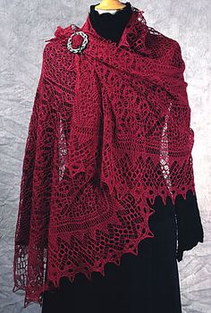 Misty Vales Stole by Dorothy Siemens (stunningly beautiful. very very difficult.)