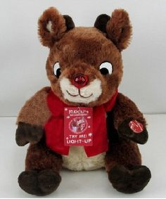 Musical Rudolph Plush 12 in - available at Rite Aid