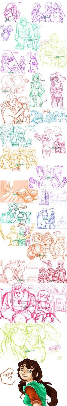 Wrecking Limits Sketchdump by Vyntresser