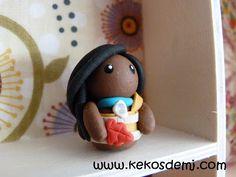 Pocahontas Fimo Princess Disney