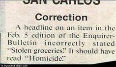 That's quite the typo.