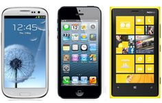 iPhone 5 vs Galaxy S3 vs iPhone 4S vs Lumia 920 | iPhone 5 vs Galaxy S3