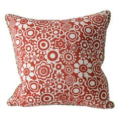 This vintage-inspired Lova cushion cover from Boel