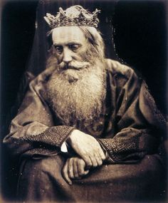 Study of King David. Depicts Sir Henry Taylor - 1866 - Julia Margaret Cameron