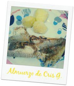 ¡Buenas tardes! Cristina G. comparte su almuerzo con nosotr@s, Pescado a la plancha y patatas hervidas http://secomer.com/que-comes/ ¡Gracias Cris! #comidasana #healthfood #healthylifestyle #perderpeso #crissabecomer