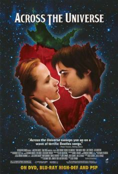 Across The Universe - DVD - Julie Taymor - Jim Sturgess - Joe Anderson Movies And Series, Hd Movies, Movies Online, Movies And Tv Shows, Movie Tv, Drama Movies, Movies Free, Movie Titles, Romance Movies