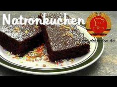 Natronkuchen - DDR Rezepte für ostdeutsche Gerichte zum Kochen, Backen, Trinken & alles über ostdeutsche Küche | Erichs kulinarisches Erbe