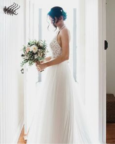 Jess Conte, wedding dress.