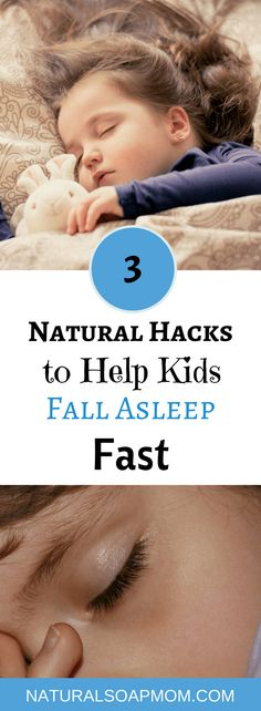 Looking for the secret of how to get kids to sleep? Parenting is a tough job. I've got 3 tips for a stress-free night with your children. Get your toddler to sleep all night alone in their own bed. Bedtime routines are important, but something they aren't enough. Essential oils is a great idea. Learn the other 2 all natural products I use to get my kids to fall asleep fast. Click to learn how to put your kids to sleep and they actually sleep! @naturalsoapmom.com #sleepyhead #sleepytime…