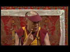 His Holiness teaches Nine round breathing meditation and single pointed meditation - YouTube