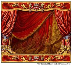 EKDuncan - My Fanciful Muse: Spanish Paper Theater Images Part 1 - Paluzie, Barcelona