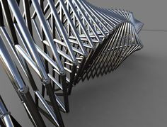 Parametrics and Architecture by Robert James Hughes, via Behance