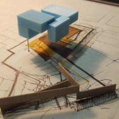 Bildergebnis für architectural model making layering