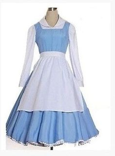 Sexy maid dress with white apron navy blue bow cosplay costume | Cosplay Costumes | Pinterest | White apron Maids and Maid cosplay & Sexy maid dress with white apron navy blue bow cosplay costume ...