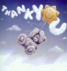 Tatty Teddy Bear - Thank you Tatty Teddy, Cute Images, Cute Pictures, Teddy Bear Quotes, Teddy Bear Pictures, Blue Nose Friends, Love Bear, Cute Teddy Bears, Creations
