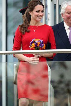 Kate Middleton Maternity Style Now & Then