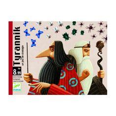 Tyrannik - taktikai, stratégiai kártya játék 8 éves kortól - Djeco Card Games, Playing Cards, Disney Characters, Board Games, Memory Games, Cards, Game Cards