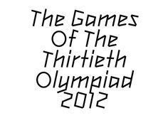 Olympic typeface