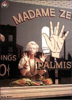 Marilyn+Palmistry. shellsss:  Marilyn Monroe.