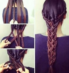 This is really pretty, and you don't need a TON of thick hair ~CSS