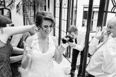 Bruid in de serre bij Kasteel Engelenburg in Brummen
