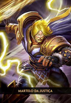 Thor - Deus do Trovão - Deuses - SMITE - MOBA em terceira pessoa   Level Up!