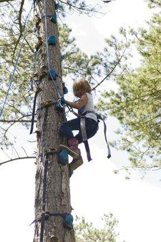 Monkey klimmen tijdens de Zomerspelen op Terschelling http://www.mooiweerzomerspelen.nl