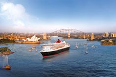 World cruise on Cunard... One day we'll do this!
