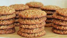 Ricas galletas de avena sin harina