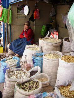Market place, cusco, peru