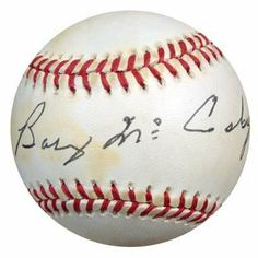 Barney McCosky Autographed AL Baseball PSA/DNA #P72214 . $249.00. This is an Official American League baseball that has been hand signed by Barney McCosky. The autograph has been certified authentic by PSA/DNA and comes with their sticker and matching certificate.