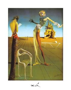 Salvador Dali Woman With Head of Roses 11×14 « Holiday Adds