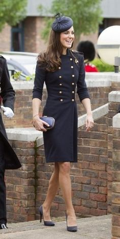 Military outfit for Princess Kate