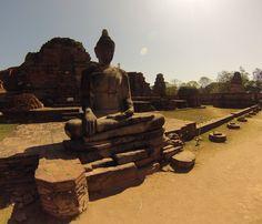 Ayutthaya. Ruines.