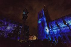 Light show on the Notre Dame cathedral in Strasbourg was breathtaking