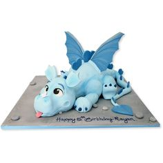 Puff The Dragon Cake Delivery in London