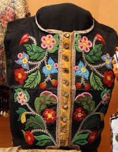Metis Beadwork: Beaded Vests | Scribd