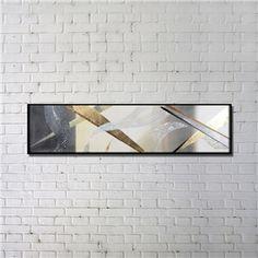 Leinwandbild Abstrakt Digitaldruck mit Schwarze Rahme