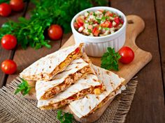 Nutrisystem offers a delicious recipe for healthy Chicken and Cheese quesadillas anyone can enjoy.